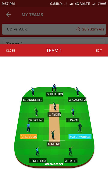 AUK vs CD, Final Match Dream11 Expert Team