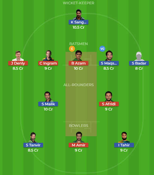 MUL vs KAR 22nd Match Dream11 Team