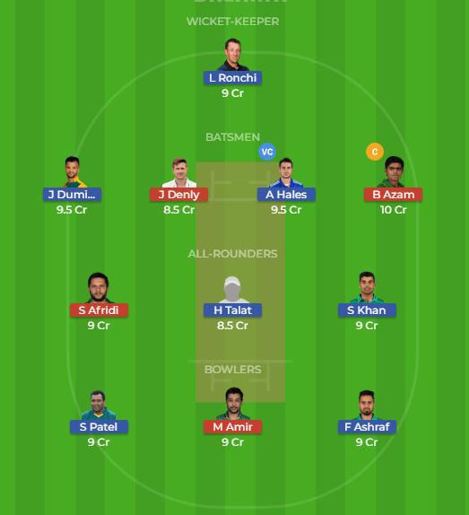 ISL vs KAR 30th Match Dream11 Team